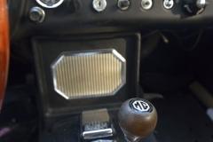 1967 MG MGB GT interior