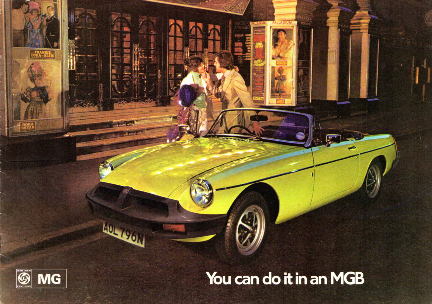 You Can Do It In An Mg 1967 Mgb Gt