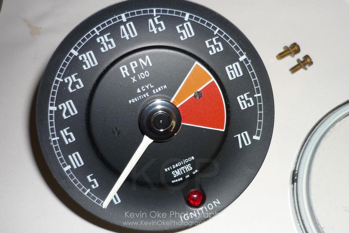 smiths tachometer 1967 mgb gt
