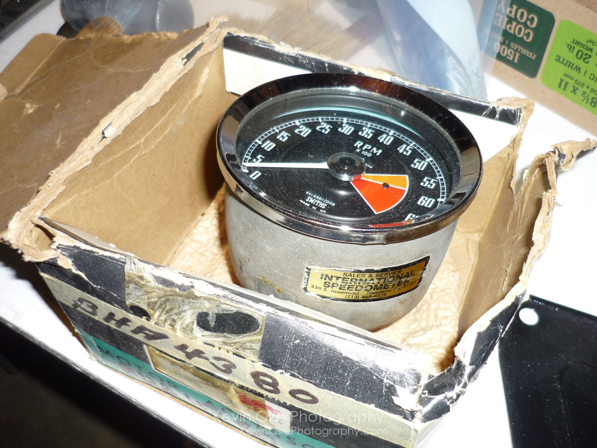 smiths positive ground tachometer 1967 mgb gt