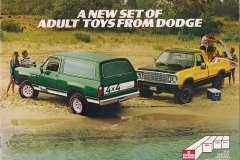 A new set of adult toys Dodge Trucks.JPG