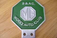 MG S & AC. Works Auto Club