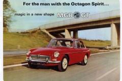 MG MGB GT 1968 brochure