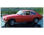 1967 MG MGB GT red