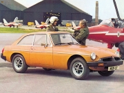 1975 MGB GT airplanes