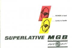 MG MGB Roadster 1962 - 1