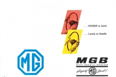 MG MGB Tourer 1965 brochure 1