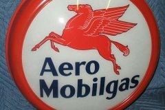Aero Mobilgas Vintage Gas Pump Globe