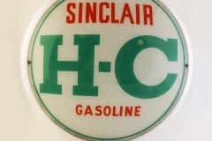 Sinclair H-C Gasoline Vintage Gas Pump Globe