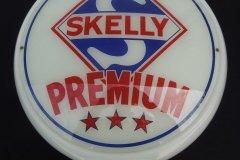 Skelly Premium Gasoline Vintage Gas Pump Globe
