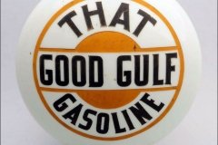 That Good Stuff Gasoline Vintage Gas Pump Globe