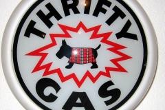 Thrifty Gas Vintage Gas Pump Globe