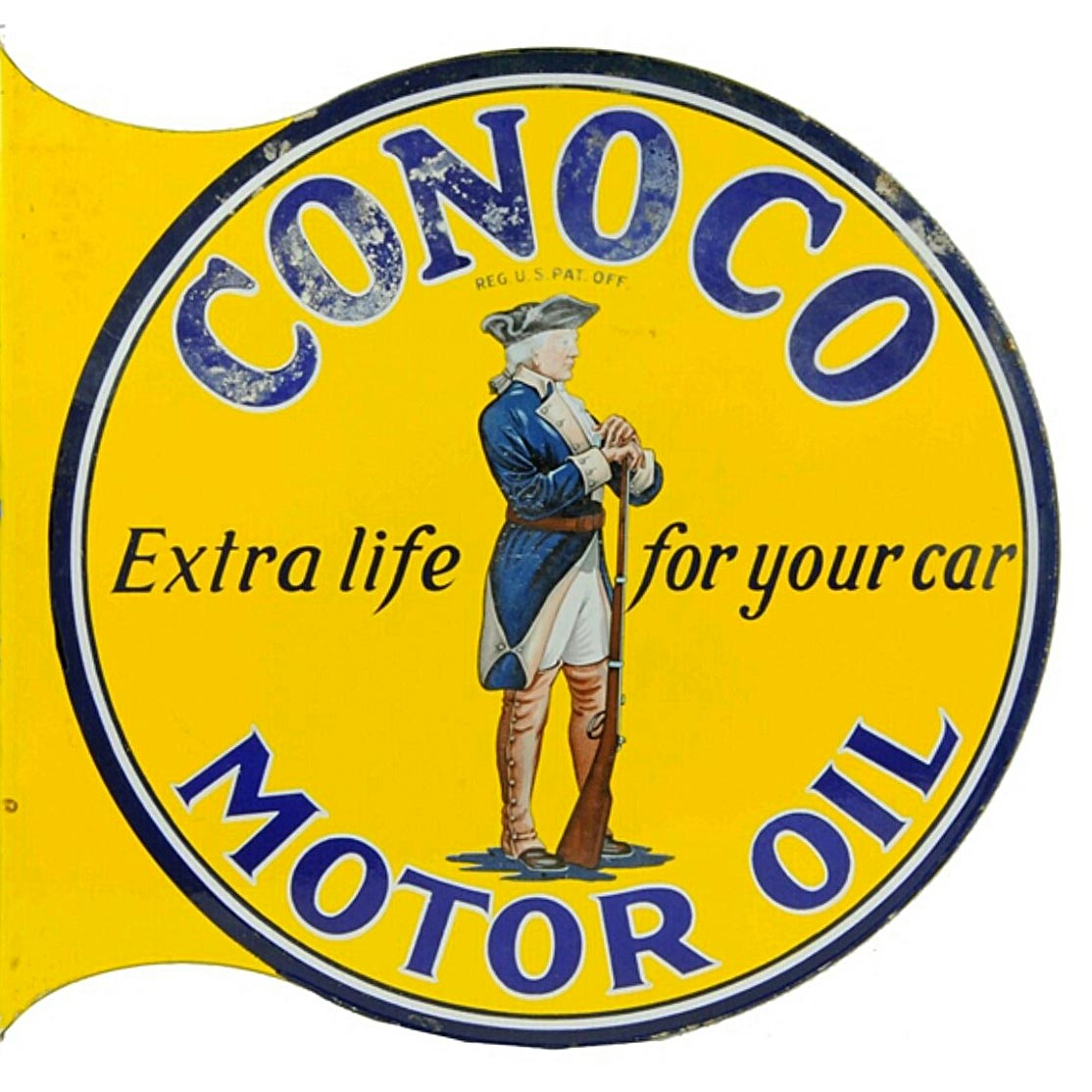 Vintage Oil and Gas signs | 1967 MGB GT