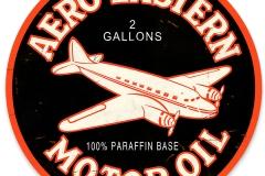 Aero Eastern Motor Oil vintage sign