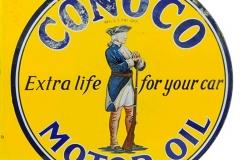 Conoco Motor Oil sign