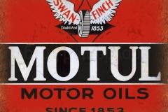 Motul Motor Oils Since 1853 Sign