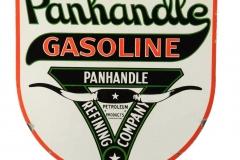 Panhandle Gasoline Refining Company sign