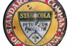 Standard Oil Company of Louisiana vintage sign