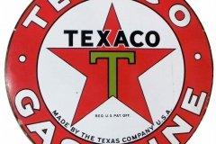 Texaco Gasoline vintage sign