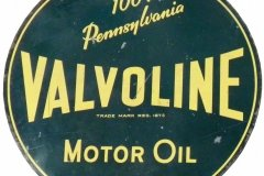 Valvoline Motor Oil Pennsylvania sign