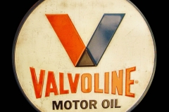 Valvoline Motor Oil Vintage Sign