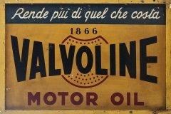 Valvoline Motor Oil sign