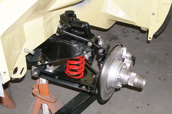 Painted Mgb Front Suspension 1967 Mgb Gt