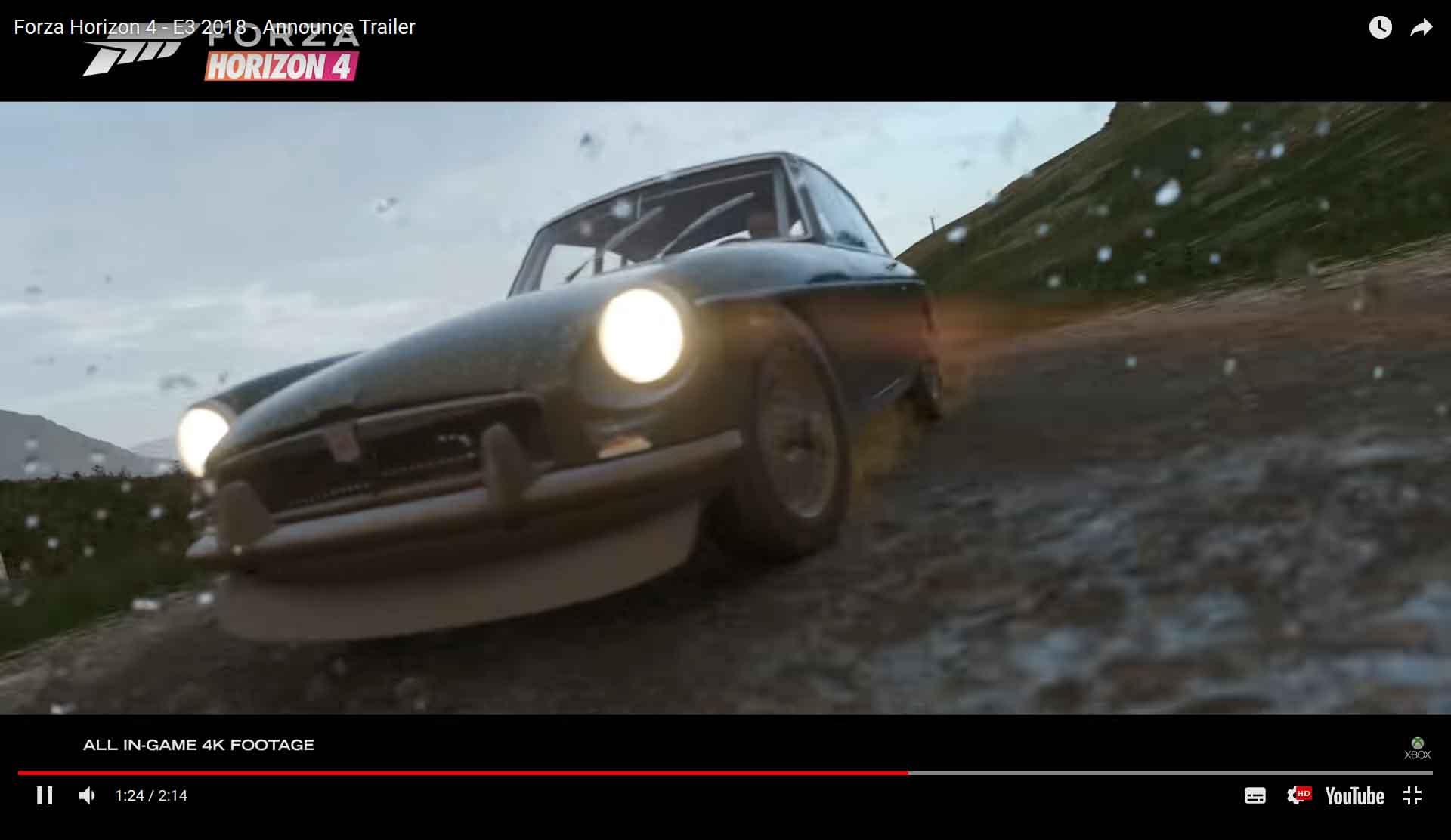 Forza Horizon 4 Mgb Gt 1967 Mgb Gt